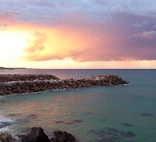 sunset at narooma by rosalind