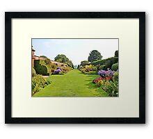 Arley Hall Gardens Framed Print