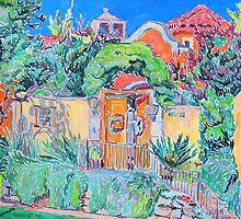 Hacienda. San Antonio. by Vitali Komarov