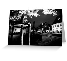 The Streets of Alsace Greeting Card