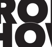 Kroll Show Title Sticker
