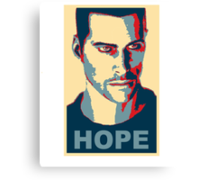 Commander Shepard HOPE Canvas Print
