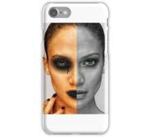 2 face angel iPhone Case/Skin