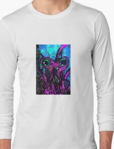 Psychedelic Squid Long Sleeve T-Shirt