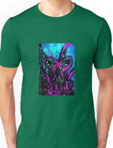 Psychedelic Squid Unisex T-Shirt
