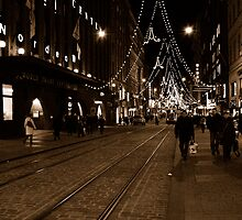 "City Life - ""X-mas Coming"" by Denis Molodkin"