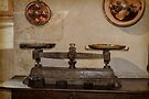 Antique Weighing Scales by Elaine Teague
