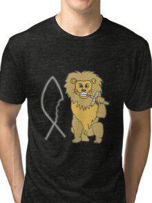 feed them to the lions Tri-blend T-Shirt