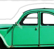 Le Splendid 2CV T-shirt Sticker