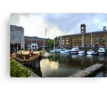 Golden Boat - Gloriana, The British Royal Barge Canvas Print