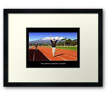 Greatest Competition Framed Print
