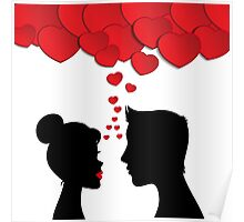 Romantic couple Poster