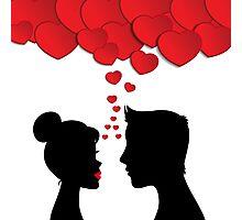 Romantic couple Photographic Print