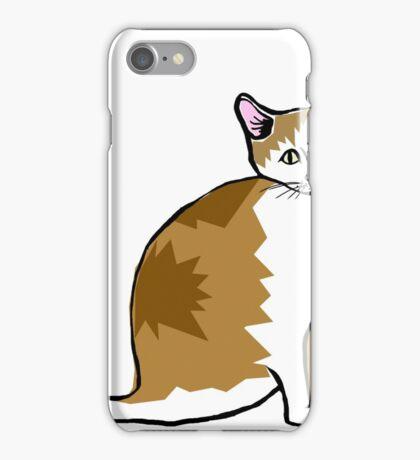 brown kitty iPhone Case/Skin