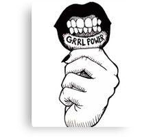 Grrl Power Canvas Print