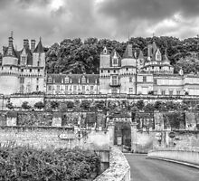 Château d'Ussé (aka The Sleeping Beauty Castle), France by Elaine Teague