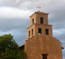 Santa Fe Church by Lauren Heather Lay