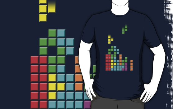#1 TETRIS FAN by Pinhead Industries
