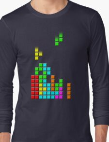 #1 TETRIS FAN Long Sleeve T-Shirt