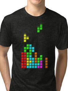 #1 TETRIS FAN Tri-blend T-Shirt