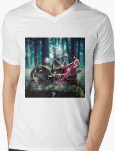 Goddess de Machina Natura  Mens V-Neck T-Shirt