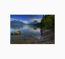 Glacier National Park Lake and Mountains Unisex T-Shirt