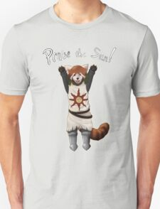 Sun Warrior Red Panda! Unisex T-Shirt