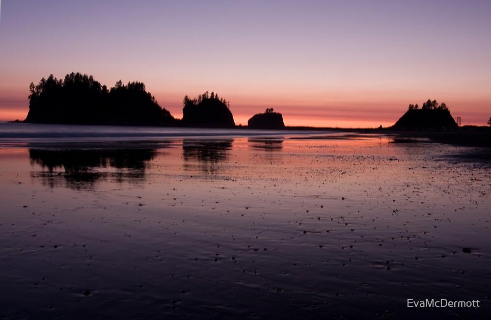 Quileute Sunset by EvaMcDermott