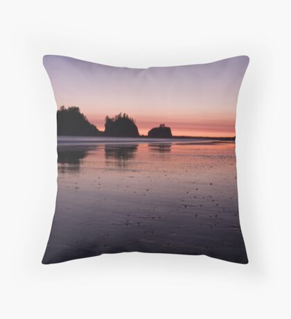Quileute Sunset Throw Pillow