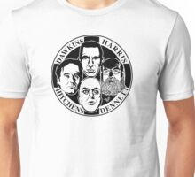 Four Horsemen: New Atheists by Tai's Tees Unisex T-Shirt