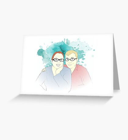 Adam & Tanya Greeting Card