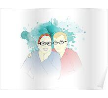 Adam & Tanya Poster