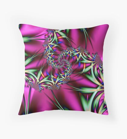 Just Let it Flow Throw Pillow