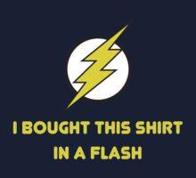 Flash Shopping Baby Tee