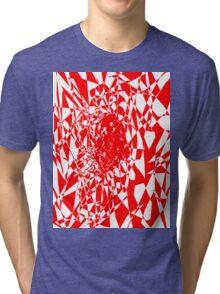 red stripes Tri-blend T-Shirt