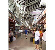 """"""" Indoor Market. """" Photographic Print"""