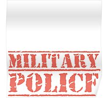 8th Day Military Police T-shirt Poster