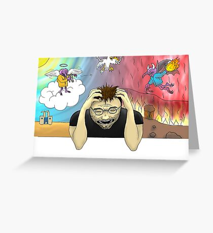 Torment Greeting Card