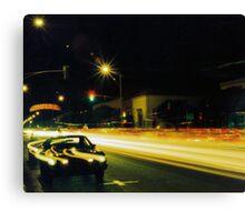 WEST TEXAS STREET, FAIRFIELD Canvas Print
