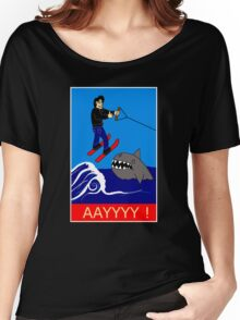 Jumping the Shark Women's Relaxed Fit T-Shirt