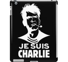 "Je Suis Charlie ""white"" iPad Case/Skin"