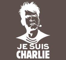 "Je Suis Charlie ""white"" by lucasbrondi"