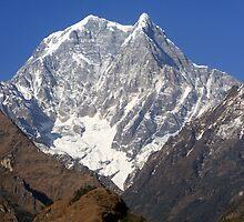 Nilgiri South - The Himalayas - Nepal by aidan  moran