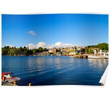 Bowness on Windermere (Toytown) Poster