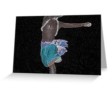 African Constellation Greeting Card