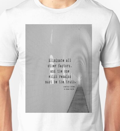 Truth Sherlock Holmes Unisex T-Shirt