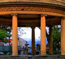 Mini Pantheon In San Jose, Costa Rica Sticker