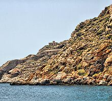 Coastline, Cartagena, Spain by Squealia