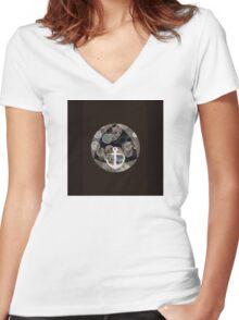 design 11 Women's Fitted V-Neck T-Shirt