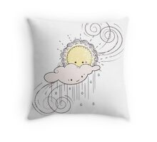 Come What May Throw Pillow